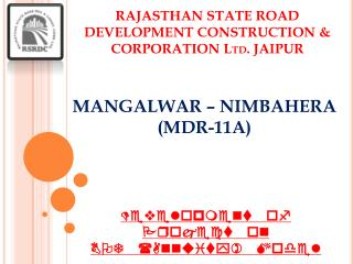 MANGALWAR – NIMBAHERA (MDR-11A)