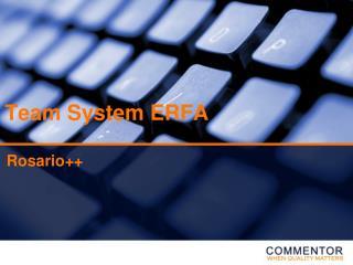 Team System ERFA