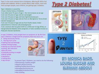Type 2 Diabetes!
