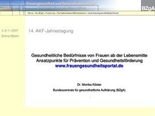 14. AKF-Jahrestagung