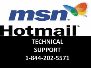 1-844-202-5571 | MSN Tech Support Contact Number