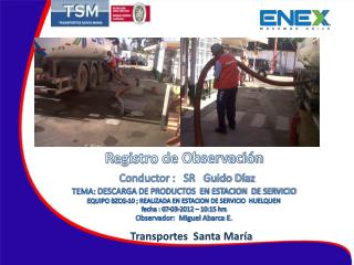 Transportes  Santa María