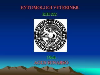 ENTOMOLOGI VETERINER KHI 222