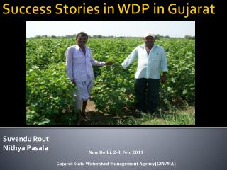 Success Stories in WDP in Gujarat
