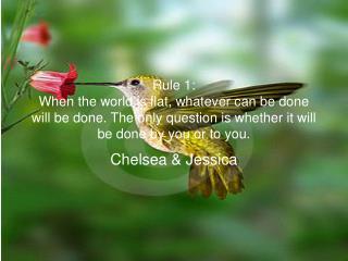 Chelsea & Jessica