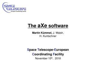 The  aXe  software