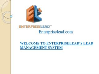 Lead management software for website integration