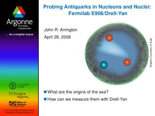 Probing Antiquarks in Nucleons and Nuclei:   Fermilab E906/Drell-Yan