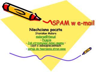SPAM w e-mail