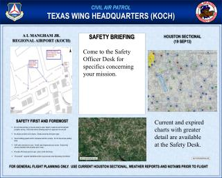 CIVIL AIR PATROL TEXAS WING HEADQUARTERS (KOCH)