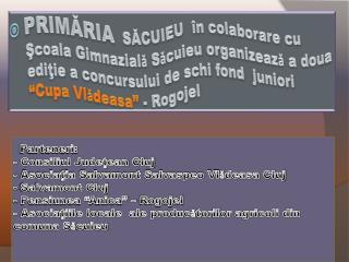 """Imagini """"Cupa Vl ǎ deasa""""  -prima ediţie-"""