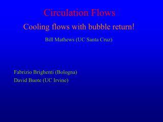 Circulation Flows