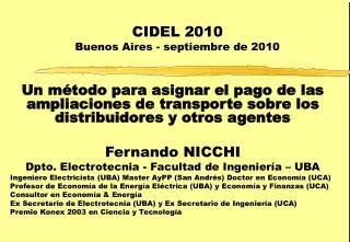 CIDEL 2010 Buenos Aires - septiembre de 2010