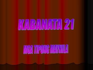 KABANATA 21