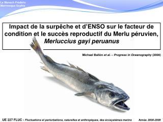 Michael Ballón  et al . –  Progress in Oceanography  (2008)