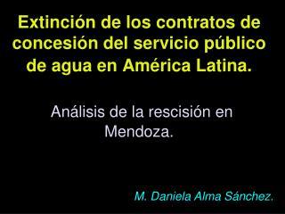 M. Daniela Alma Sánchez.