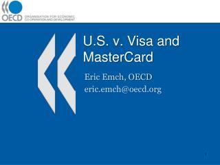 U.S. v. Visa and MasterCard