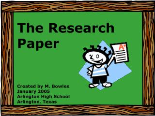 The Research Paper