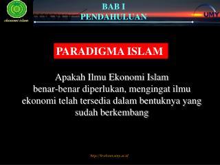 PARADIGMA ISLAM