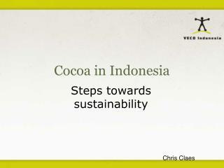 Cocoa in Indonesia