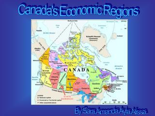 Canada's Economic Regions