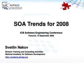 SOA Trends for 2008