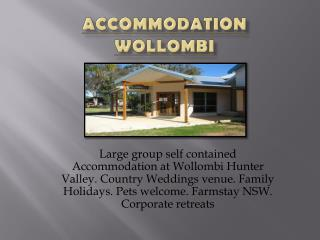Accommodation Hunter Valley | Family holidays Hunter Valley