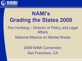 NAMI's  Grading the States 2009