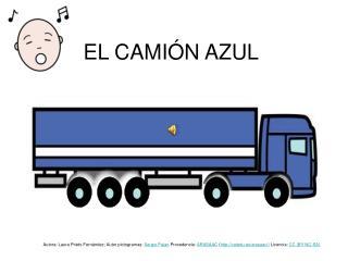 EL CAMIÓN AZUL