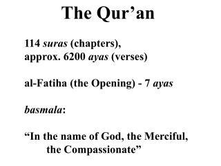 The Qur ' an