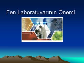 Fen Laboratuvarının Önemi