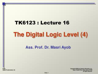 The Digital Logic Level (4)