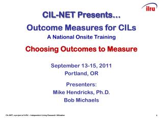 CIL-NET Presents