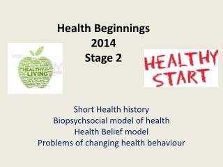 Health Beginnings 2014 Stage 2