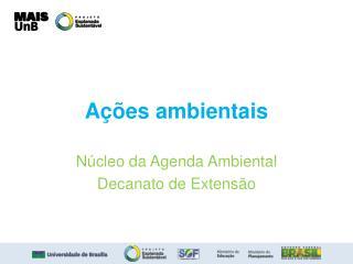 Ações ambientais