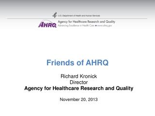 Friends of AHRQ