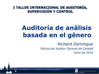 Auditoría de análisis basada en el género