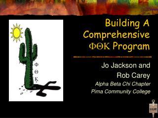 Building A  Comprehensive  FQK  Program