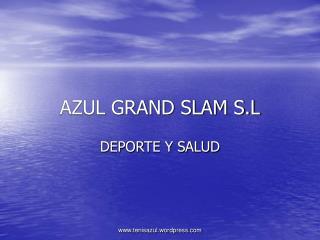 AZUL GRAND SLAM S.L