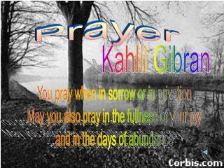 Prayer Final Version