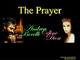 The Prayer - English