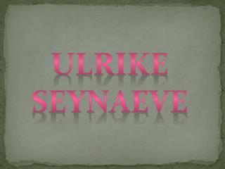 Ulrike seynaeve