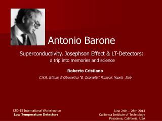 LTD-15 International Workshop on Low Temperature Detectors