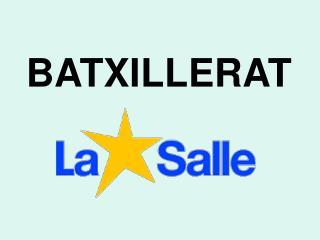 BATXILLERAT
