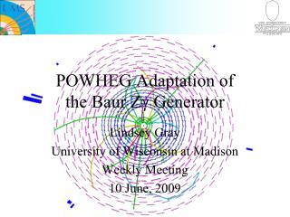 POWHEG Adaptation of  the Baur Zγ Generator