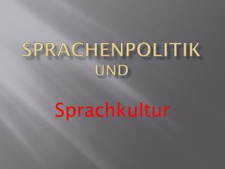 Sprachenpolitik  und