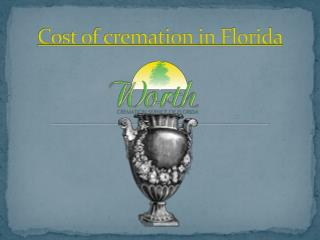 cost of cremation in florida