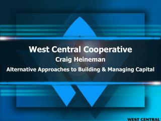 West Central Cooperative