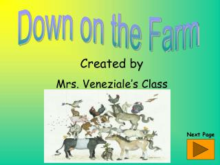 Created by Mrs. Veneziale�s Class