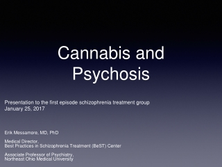 Treatment of Adolescents with Cannabis Abuse or Cannabis Dependence
